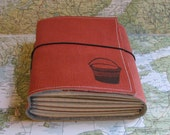 bucket list journal with maps featured in Better Homes and Gardens Gift Guide