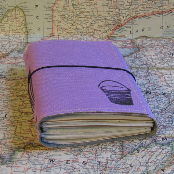 bucket list journal with maps featured in Better Homes and Gardens 2011 Holiday Gift Guide