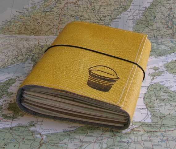 bucket list journal with maps featured in Better Homes and Gardens Holiday Gift Guide
