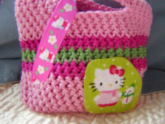 Hello Kitty Winter Holiday Snowman - Little Girl's Purse