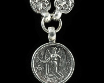 Nike Necklace, B.C. Silver Collection     6111S