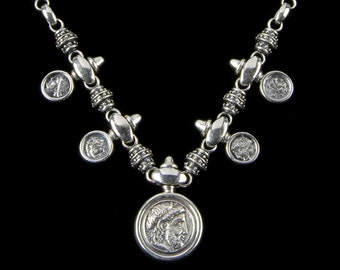 Philip of Macedonia Family Necklace, B.C. Silver Collection    6112S