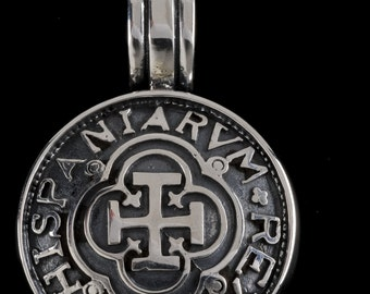 Hispania 1691 Cross Pendant, B.C. Silver Collection          6420S