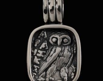 Wise Owl Pendant 6415S