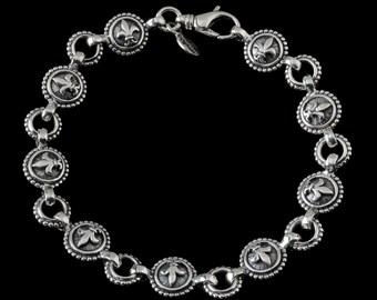 Fleur de lis Bracelet, B.C. Silver Collection  6267S