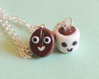 Best Friend, Best Friend Necklace, bff necklace, best friend keychain, friendship necklace, kawaii necklace