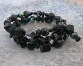 SILK STOCKINGS Wrap Bracelet