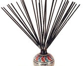 Incense Sticks 30 Pack and Incense Holder-Your Choice of 3 Scents