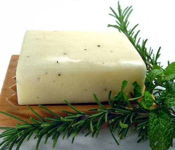 Rosemary Mint Soap 5 Oz. Bar- Vegan Friendly