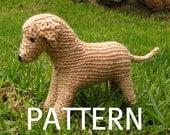 Labrador Dog Toy Knitting Pattern (PDF)