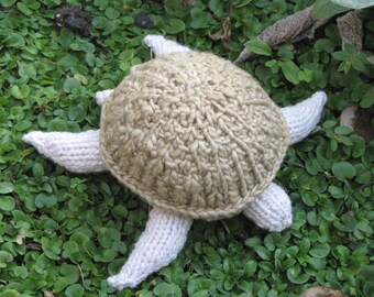 Turtle Knitting Pattern, (PDF) Instant Digital Download
