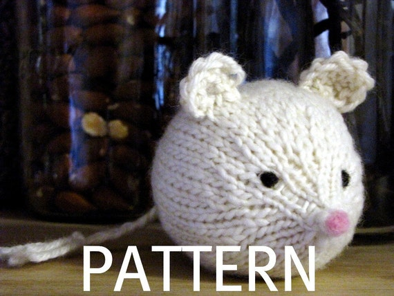 Mouse Knitting Pattern (PDF)
