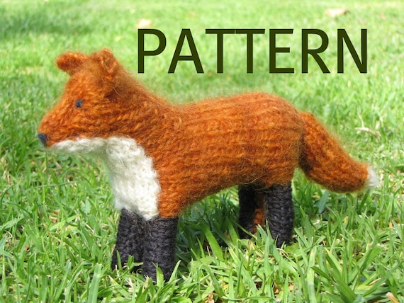 Copper, the Red Fox Pattern, PDF