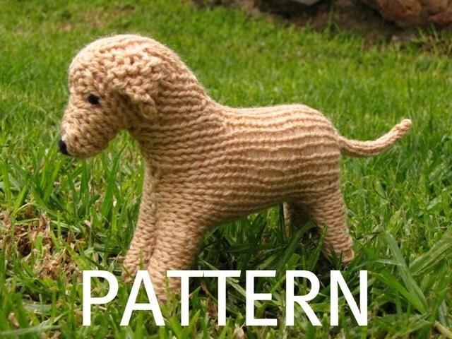 Dog Muzzle Knitting Pattern : Labrador Dog Knitting Pattern PDF