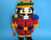PDF Crochet Pattern PUDGY NUTCRACKER