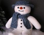 PDF Crochet Pattern SNOW BUDDY