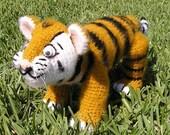 PDF Crochet Pattern  TIGER CUB