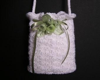 FLOWER GIRL PURSE Pdf Crochet Pattern