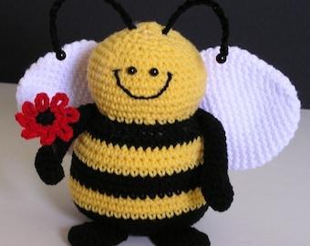 PUDGY BEE PDF Crochet Pattern