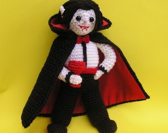 DRAKE THE VAMPIRE Pdf Crochet Pattern