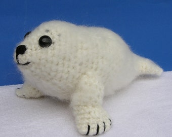BABY SEAL PDF Crochet pattern