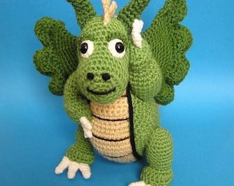 PDF Crochet Pattern DRAGON