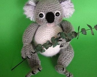 PDF Crochet Pattern KOALA