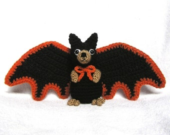 BERT THE  BAT Pdf Crochet Pattern (English only)