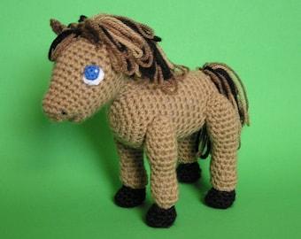 PDF Crochet Pattern LITTLE HORSE