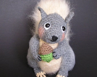 Pdf Crochet pattern SIDNEY SQUIRREL (English only)