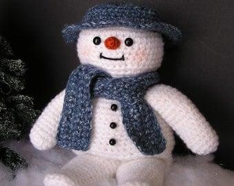 PDF Crochet Pattern SNOW BUDDY (English only)