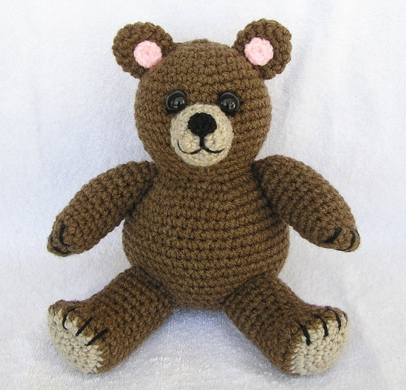 TED E. BEAR Pdf Crochet Pattern