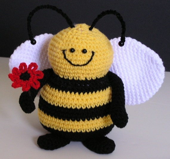 PUDGY BEE PDF Crochet Pattern