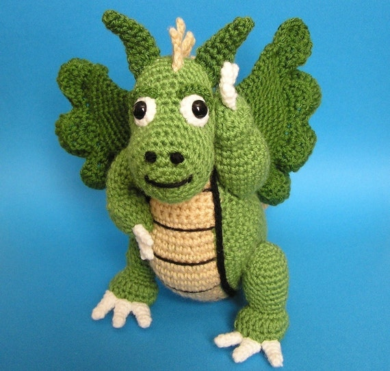 Pdf Crochet Pattern Dragon