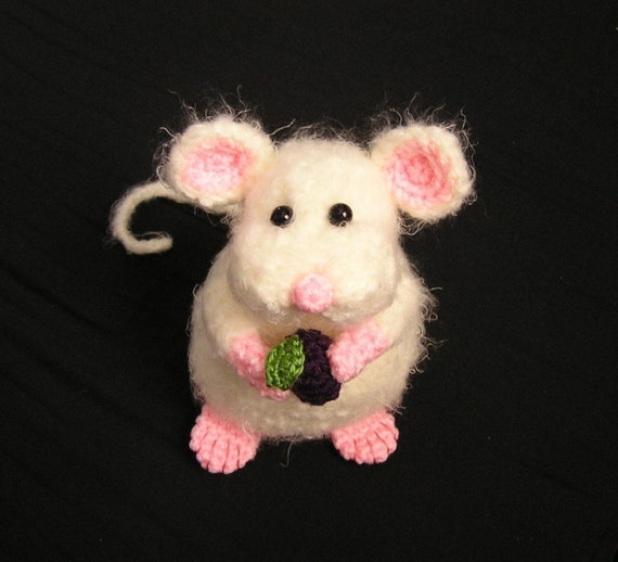 Pdf Crochet Pattern PUDGY LITTLE MOUSE