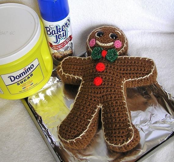 Amigurumi Ipi : PDF Crochet Pattern GINGERBREAD BOY