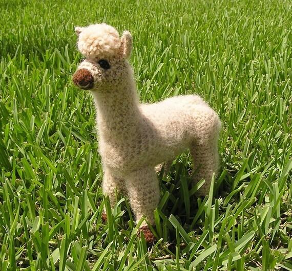 Alpaca Amigurumi Crochet Pattern : PDF Crochet Pattern ALPACA
