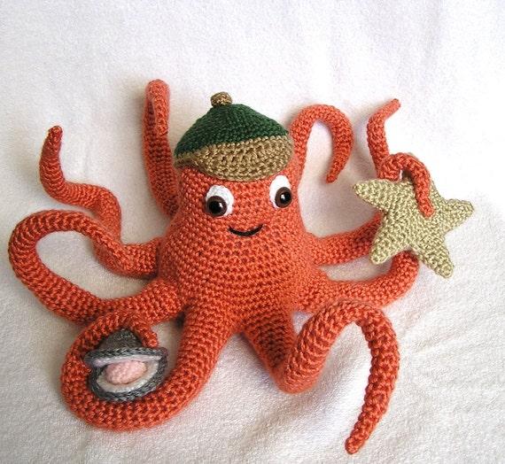 PDF Crochet Pattern OLLIE OCTOPUS