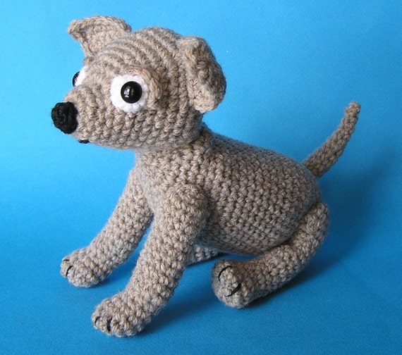 PDF Crochet Pattern CHIHUAHUA PUP