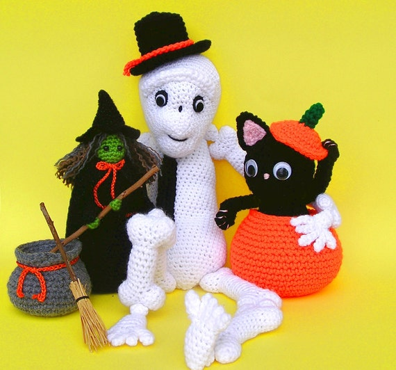 HALLOWEEN TRIO PDF Crochet Pattern