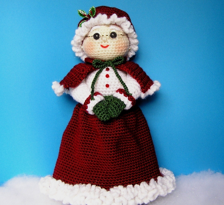 Pdf crochet pattern mrs santa