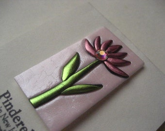 Pink Asian inspired Flower Pin