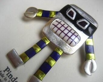 Angry Robot pin