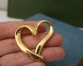 Heart on My Sleeve (Or Sweater) vintage Trifari Brooch