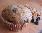 Absolutely the best banana chocolate muffins (vegan)