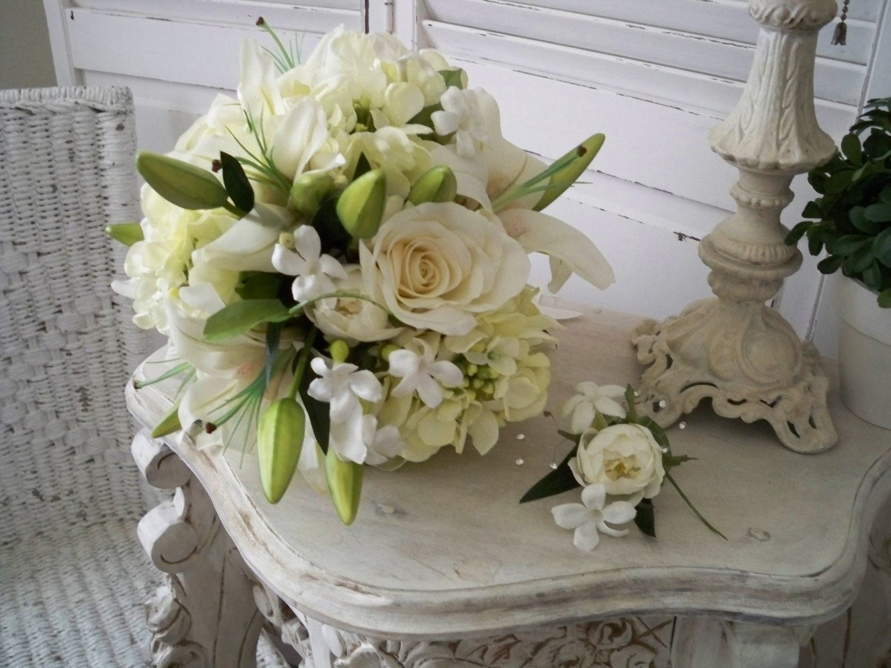 Casablanca Brides Bouquet 88