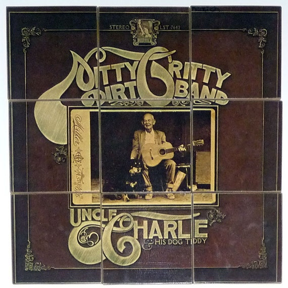CLEARANCE: Nittty Gritty Dirt Band Recycled Record & Album Cover Coasters