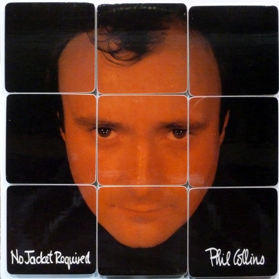 RESERVED  for kimbrokhof Phil Collins Coaster Set