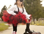 Black and Red Tutu Pirate Costume