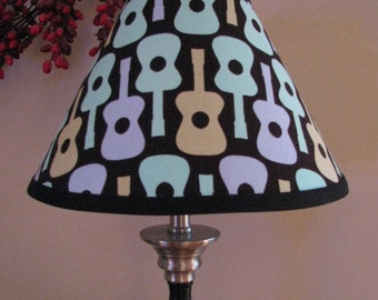 Groovy Guitar lamp shade